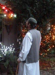 shaykh rashid admires ramadhan lights